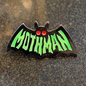 4 for $25 Mothman enamel pin